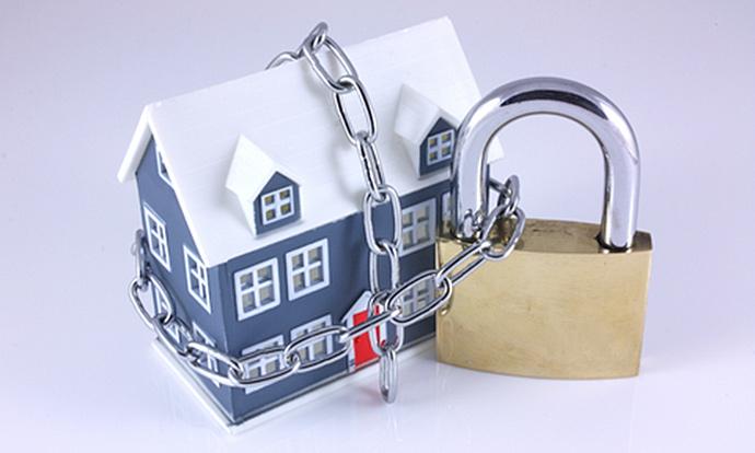Sicherheitstechnik für Haus